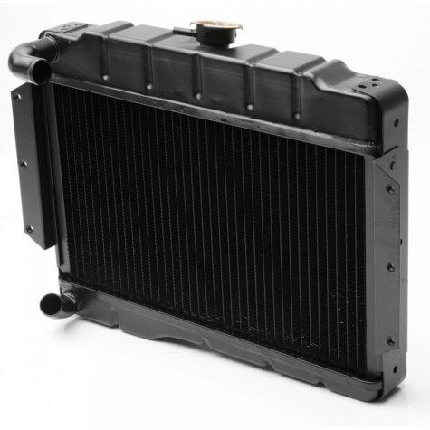 Radiator MGB 69-76 centerfill, Chroombumper, NRP1142