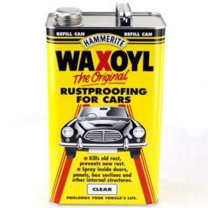 Waxoyl blank transparant anti roest