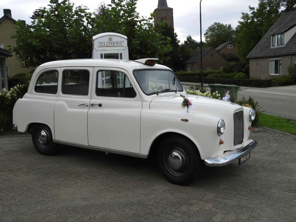 Engelse taxi te huur