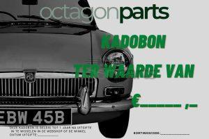 Kadobon Octagon Parts