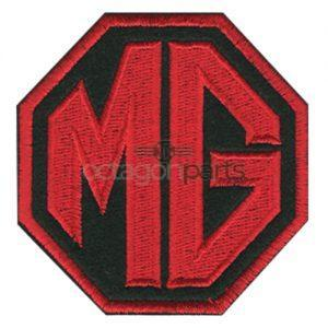 Kleding badge MG logo
