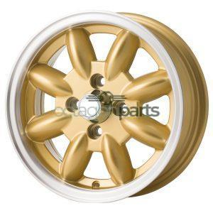 Minilite Mini 13 inch x 5.5J goud
