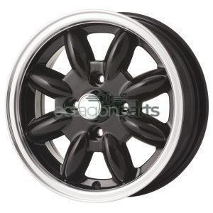 Minilite Mini 13 inch x 5.5J zwart