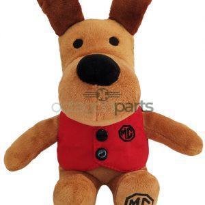 Knuffel hond MG logo