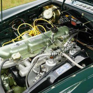 Motorblok lak groen metallic MGC-Austin Healey