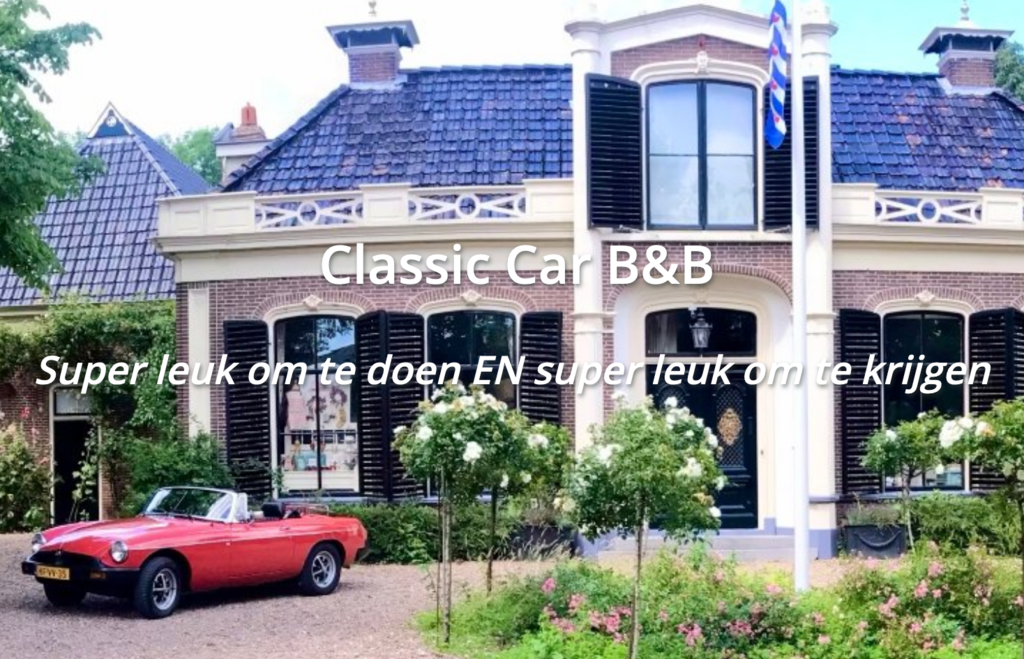 B B Friesland Classic Car Arrangement