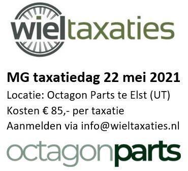 Taxatiedag 22 mei 2021