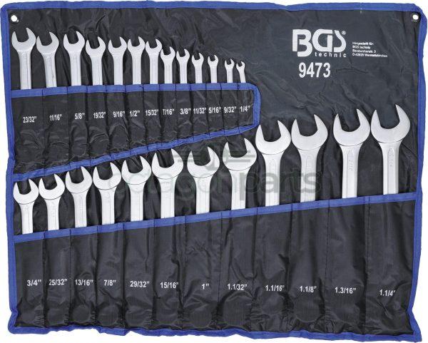 Steek ringsleutel Inch maten set - BGS9473