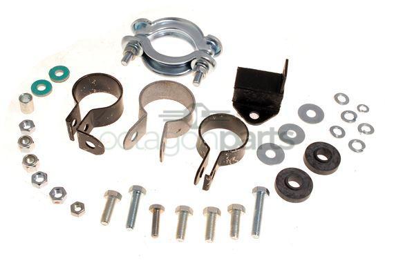 Uitlaat montageset MG Midget 1098&1275cc - Uitlaat montageset Austin Healey Sprite