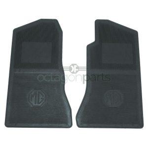 Vloermatten MGB rubber - 3 synchro